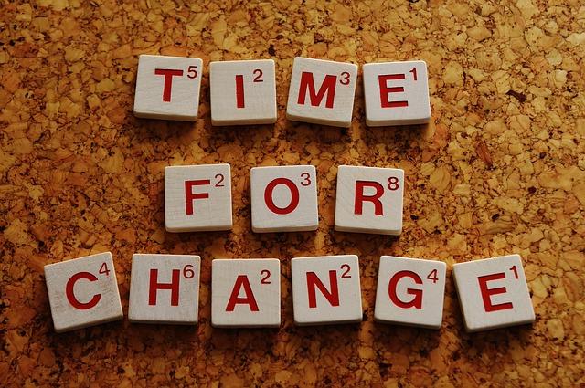 čas na změnu